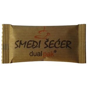 Žuti šećer u kesicama | jastučić